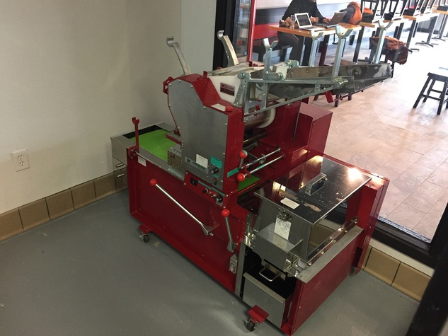Samurai Noodle machine