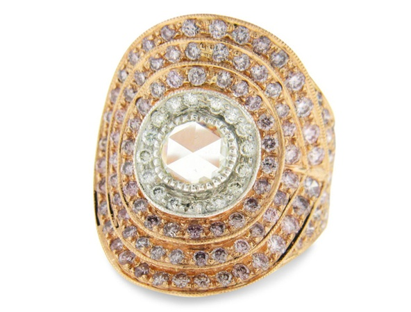 Sethi Couture (Zadok Branded Label) Plume Ring