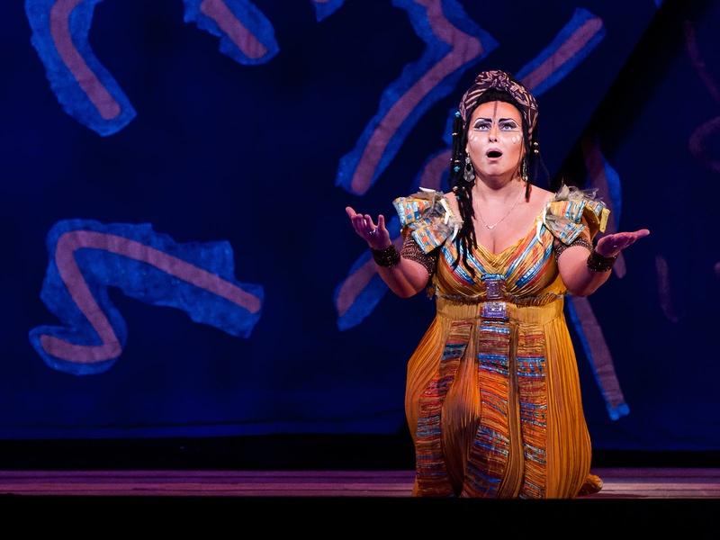 Houston Grand Opera Verdi's Aida with Liudmyla Monastyrska as Aida