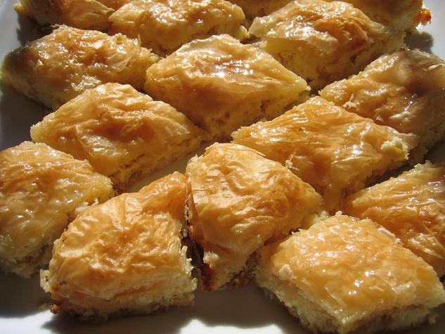 Baklava from Greek Food Festival of Dallas
