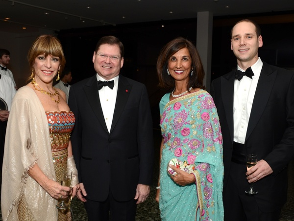 5, Islamic World gala, January 2013, Franci Crane, Bruce Baganz, Sultana Mangalji, Jared Crane