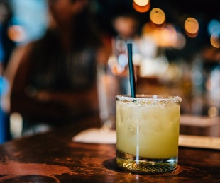The Native Hostel bar cocktail margarita