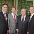 Men of Distinction luncheon Houston May 2013 Steve Mach, Mike Hall, Charlie Thomas, Tony Gracely