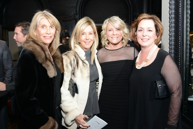 24 Karen Moore, from left, Laura Rathe, Kathy Young and Myla Ramsey at the Krist Samaritan Gala November 2014