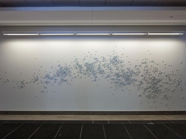 Paul Fleming artwork at 2100 Ross Avenue