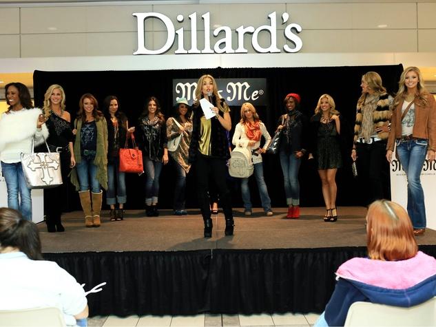 miss me jeans fashion show, stonebriar centre, laurie graham
