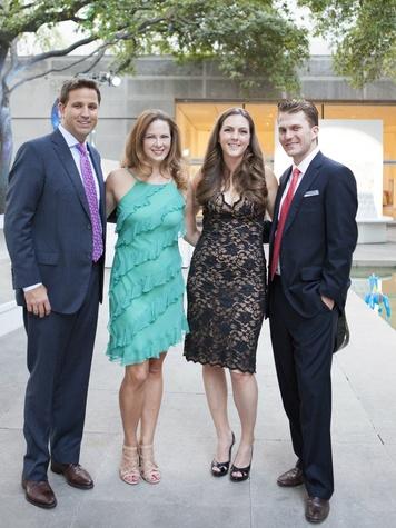 Scott Bradford, Jennifer Bradford and catherine Neal ,Chase Sachse, affair of the art