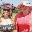 Tammy Shaffer, Kristin Kelley of Project Transformation, Melissa Williams, polo on the lawn