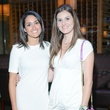 58 Elizabeth Cepeda, left, and Nadia Hadri at the White Hot Summer Night Party at Eddie V's August 2014