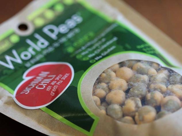 World Peas packaging
