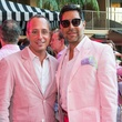 1 Mark Sullivan, left, and Ceron at the Pink Party at Hotel ZaZa July 2014