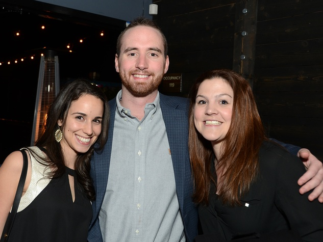 12 71 Alexis Webb, from left, Austin George and Ella Reckers at the American Heart Association Bachelor Party February 2014