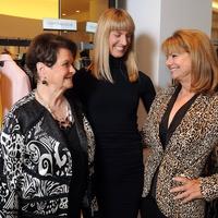 News, Shelby, UTMB Nurses luncheon, Joy Fertitta, Chris Goins, Susan Falgout, Oct. 2014