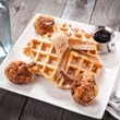 Chicken & Waffles from Moviehouse & Eatery