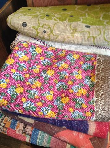 Blankets at Austin shop Mercury