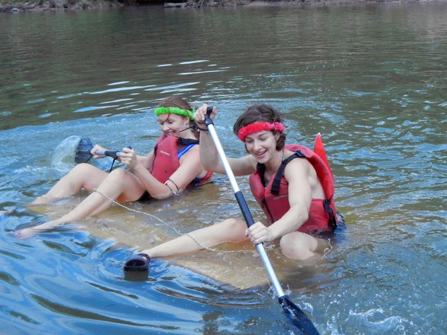14 Jessica Supinski, left,  and Christine Merrill  at Anything That Floats 2014