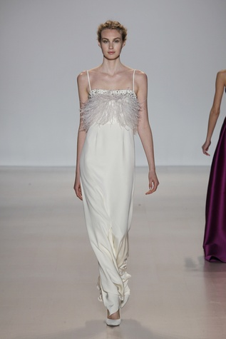 Lela Rose evening gown fall 2014 collection