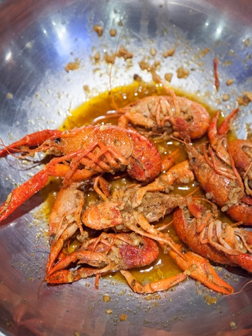 Texas Monthly 10 Houston plates May 2013 Cajun Spiced Crawfish at Crawfish & Noodles