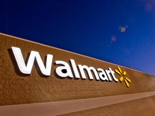 Walmart, sign, logo, December 2012, day