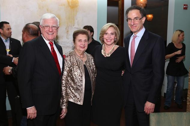 3 Jim and Helen Shaffer, from left, and Doe and Henry Florsheim at TUTS' Vine & Dine November 2014