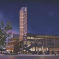 Sky Cinemas rendering Belterr Village Southwest Austin Crescent Comunities Endeavor Real Estate Group