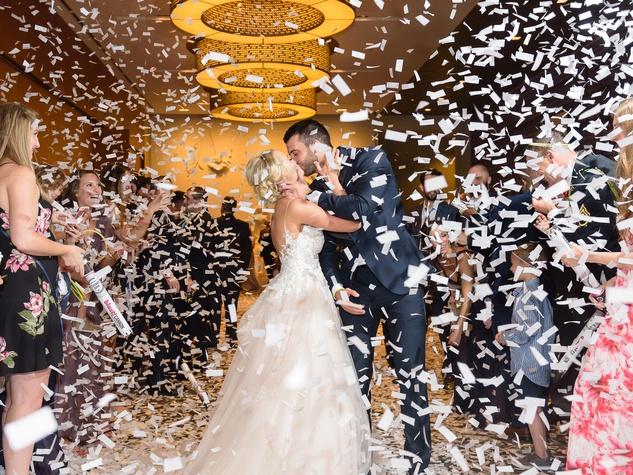 Neely wedding, farewell