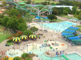 Aerial of NRH2O waterpark