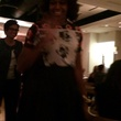 First Lady Michelle Obama at Triniti Restaurant in Houston