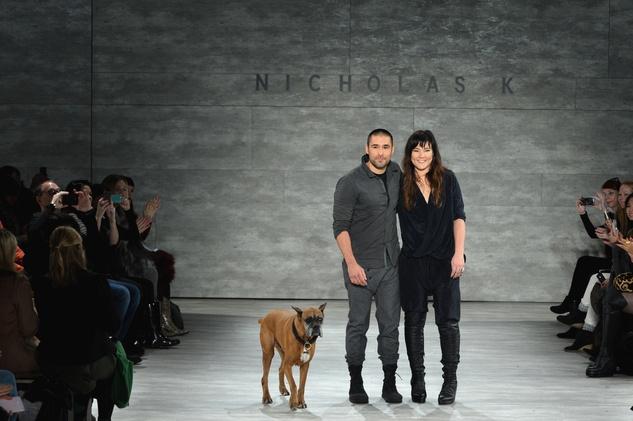 Nicholas K fashion show February 2014