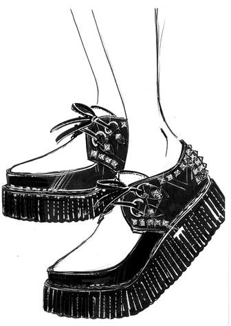Madonna Rebel Heart Tour Miu Miu shoes