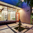 On the Market 2603 Hopkins St. September 2014 courtyard at night