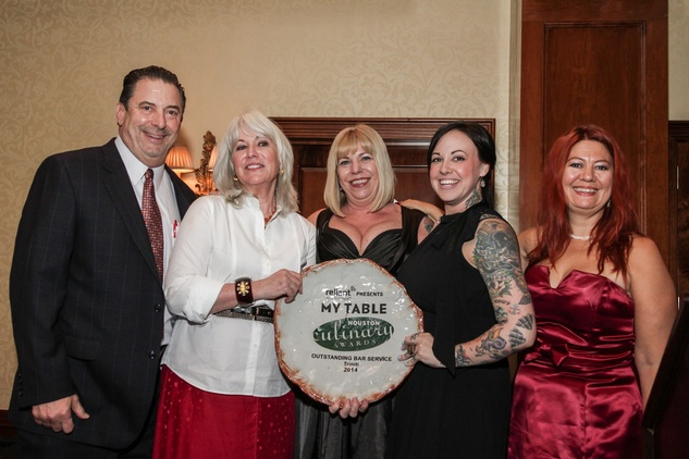 My Table Houston Culinary Awards Sam Ray Teresa Byrne Dodge Laurie Sheddan Leslie Ross Triniti Phaedra Cook