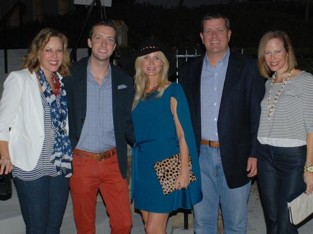 Courtney Edwards, Dustin Holcomb, Heather Anderson, Brett Anderson, Allison Edwards, LPJC Yacht Party