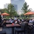 Osteria Mazzantini patio with diners