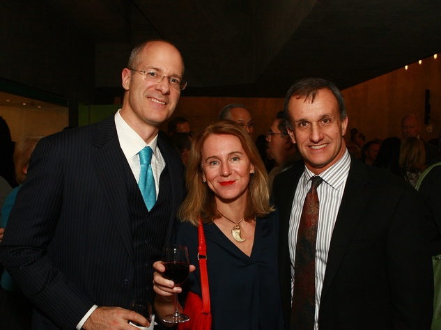 Mark Doyle, Fanny Kerwicz, Lucilo Peña, taca grand presentation