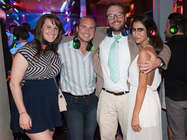 David Edwards, Casey Crossland, Frances Ferguson, YFWC Sileny Disco