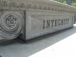 Integrity, in stone