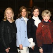 Peggy Sewell, Lisa Troutt, Gene Jones, Sydney Huffines, Ruth Altshuler, Girls Scouts Luncheon