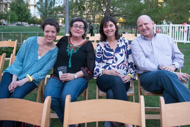 News, Shelby, Art Car parade sneak preview, April 2015, Carolyn Watson, Ester Perine, Roxann Neumann, Tim Neumann