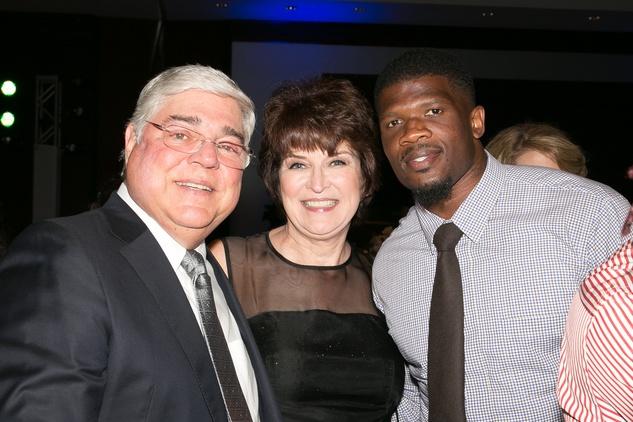 HAWC Gala, May 2015,  Howard and Linda McCollum, Andre Johnson