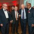 Bill Hobby, from left, Joe Jamail, Herb Kelleher and Rodney Ellis at the Bill Hobby Roast January 2015