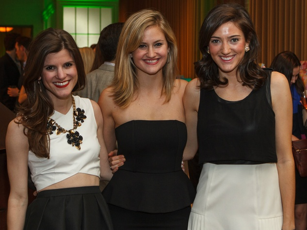 Brighton Keller, Riley Potter, Margaret Arnot, RMH Young Friends Party