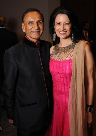 UHAA Gala 2015 Suresh and Renu Khator