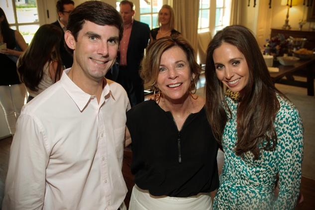 News, Shelby, UTHealth Luminaries, July 2015, Lex Hochner, Dr. Susan Landry, Kitty Hochner