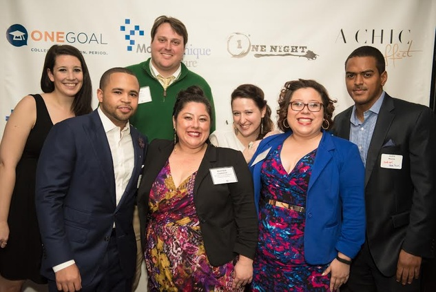 One night for Onegoal fundraiser hosts