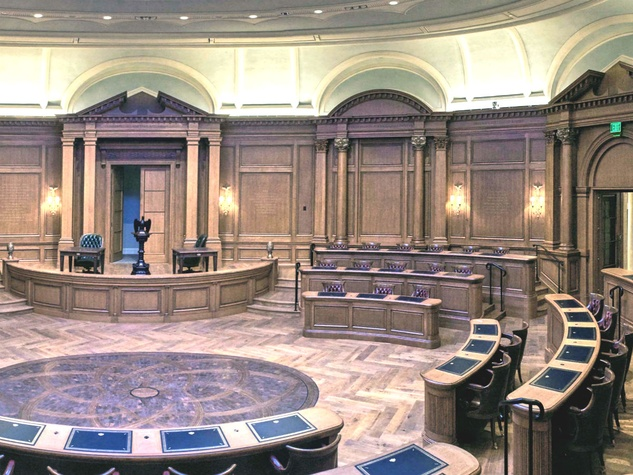 Old Parkland debate room