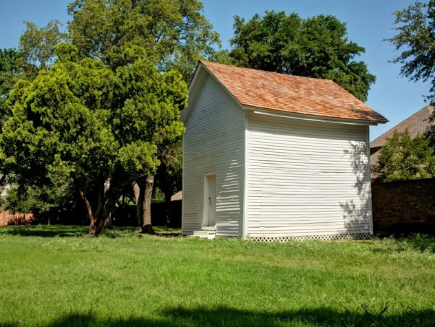 Caruth Homeplace Curing Shed