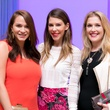 Junior League luncheon, 9/16, Hannah Swiggard, Kendra Smith, Jennifer Rossth