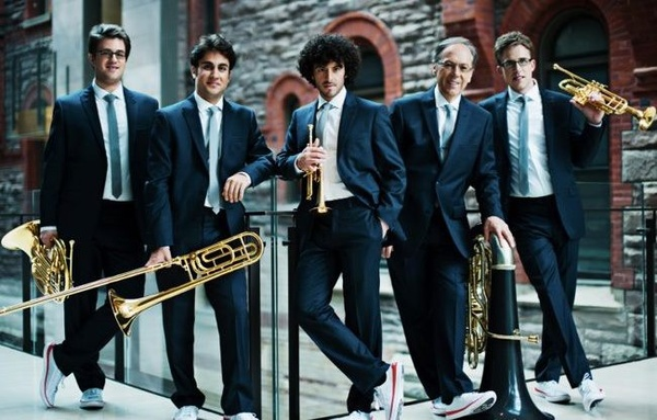 Houston Friends of Chamber Music presents the Canadian Brass