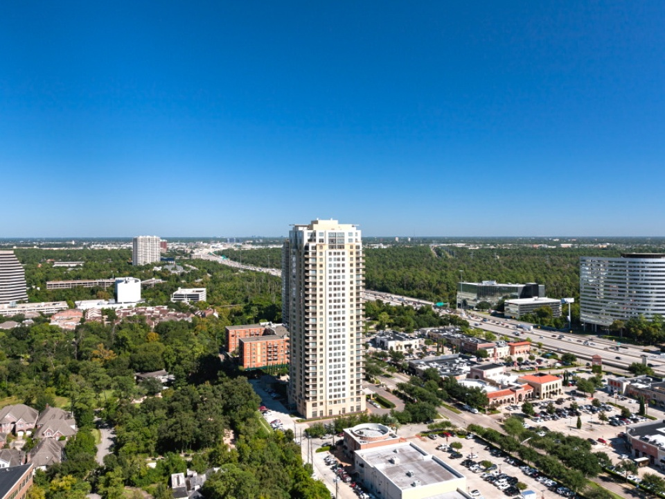 Houston, Highrise apartment views_May 2015, Camden Post Oak